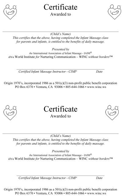 $25 Donation + Parent Certificates File